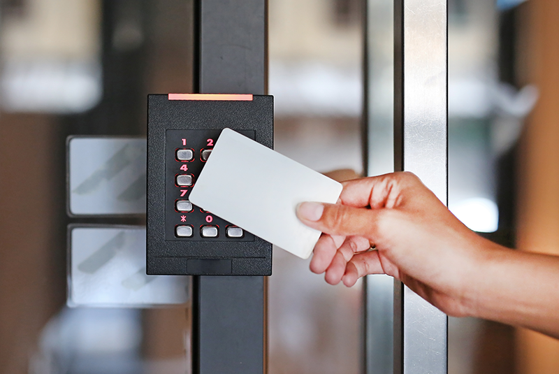Access control key card security solution